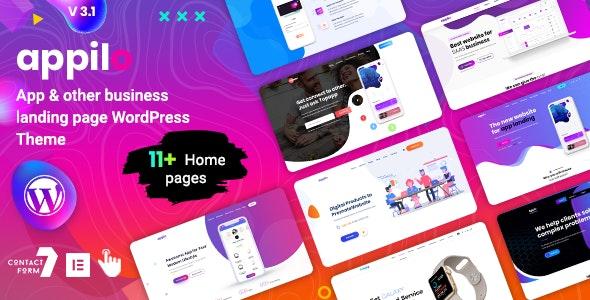 Appilo v4.9 - App Landing Page