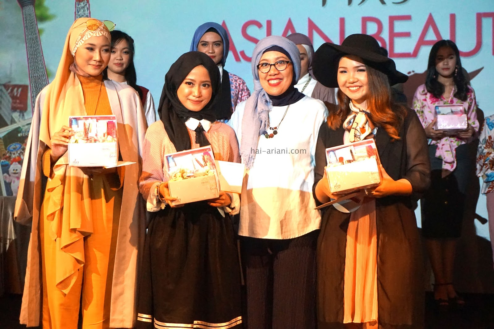 PEMENANG PIXY ASIAN BEAUTY TRIP 2017