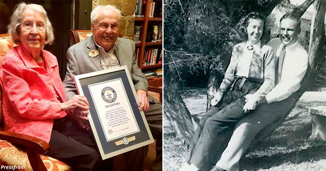 Ей 105, ему — 106. Они отпраздновали 80 лет брака