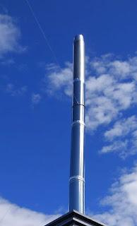alargar tubos de chimeneas de salida humos