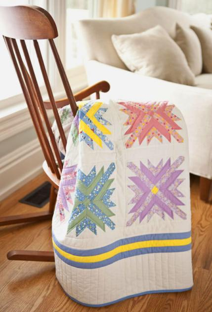 Mixed Bouquet Quilt Free Pattern