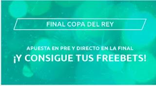 Mondobets promo final  copa Athletic vs Real sociedad 3-4-2021