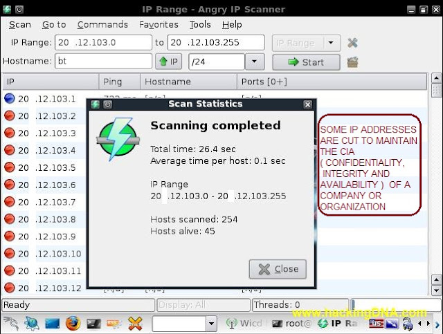 ANGRY IPSCAN LIVE NETWORK