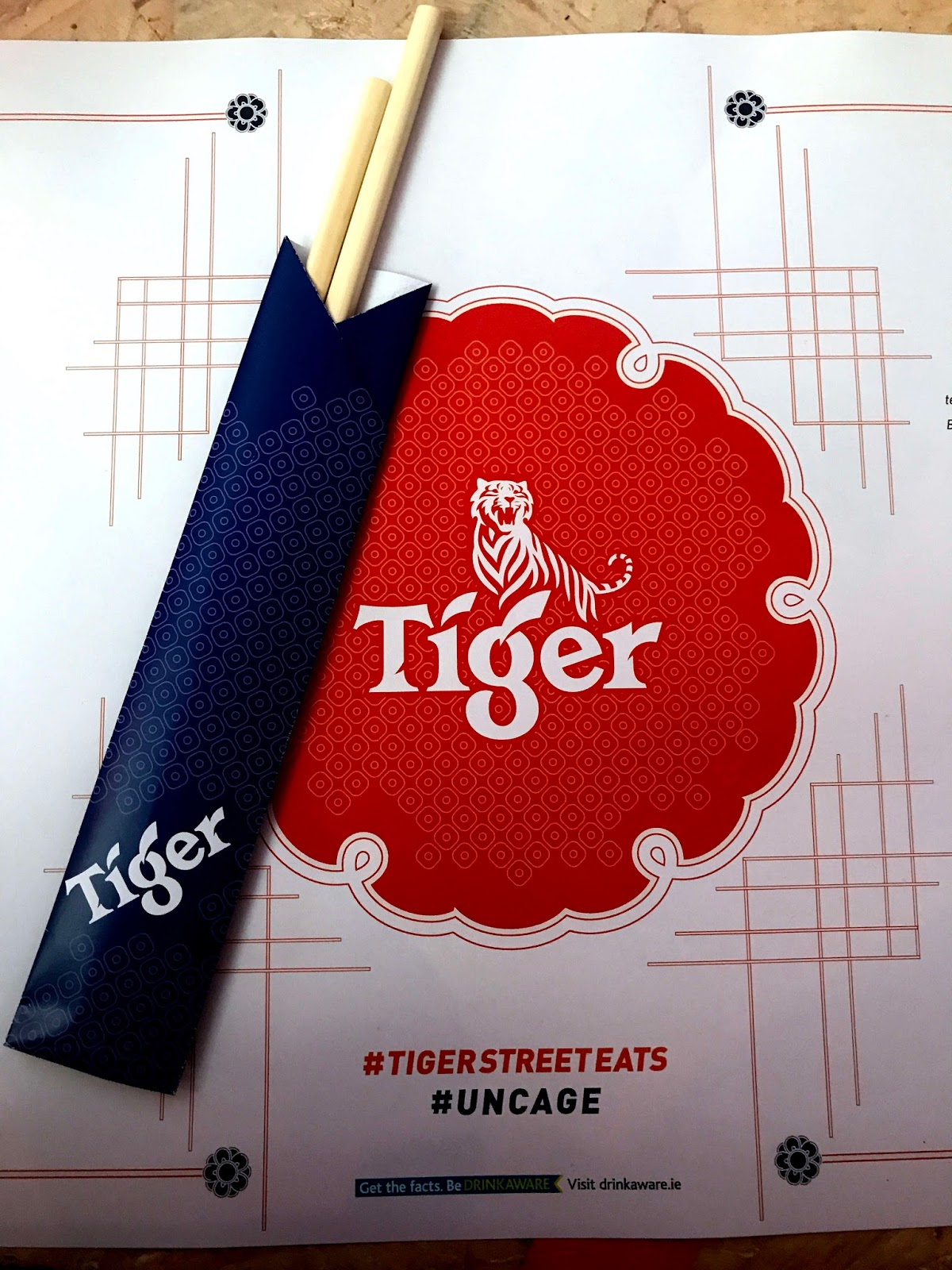 Stitch & Bear - Tiger Street Eats - Placemat