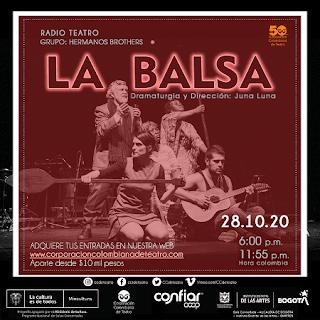 "OBRA ""LA BALSA"" ¡Teatro online!"