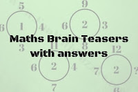 Maths Brain Teasers with answers