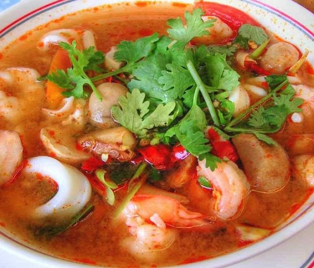 tom yum seafood recipe
