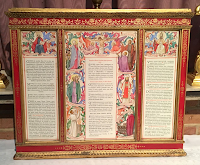 Hand Illuminated Altar Cards of Nina Somerset