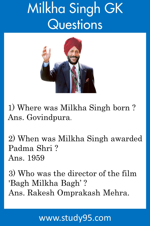 Milkha Singh GK