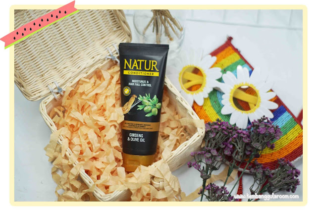 Natur Conditioner Moisturize & Hair Fall Control