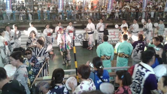Bon Dance en Osaka