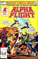 Alpha Flight v1 #1 marvel comic book cover art by John Byrne