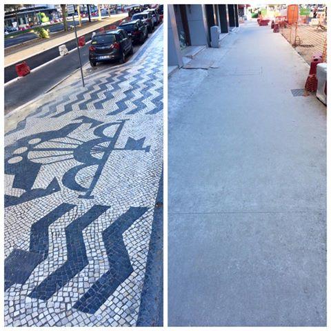 f2ccadead CIDADANIA LX: Substituição da calçada portuguesa - Nota de Imprensa
