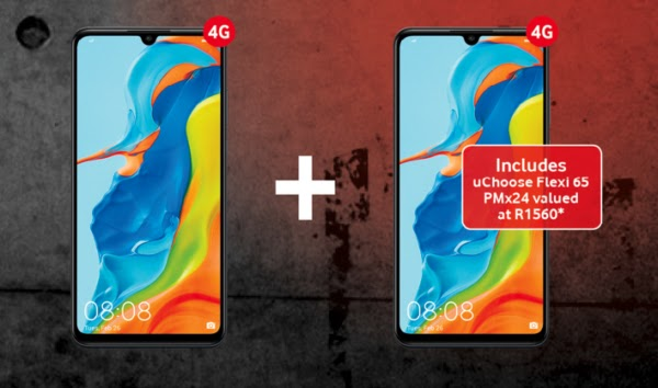 2 x Huawei P30 Lite on Smart XS+ with uChoose Flexi 65 – R449pm x 24