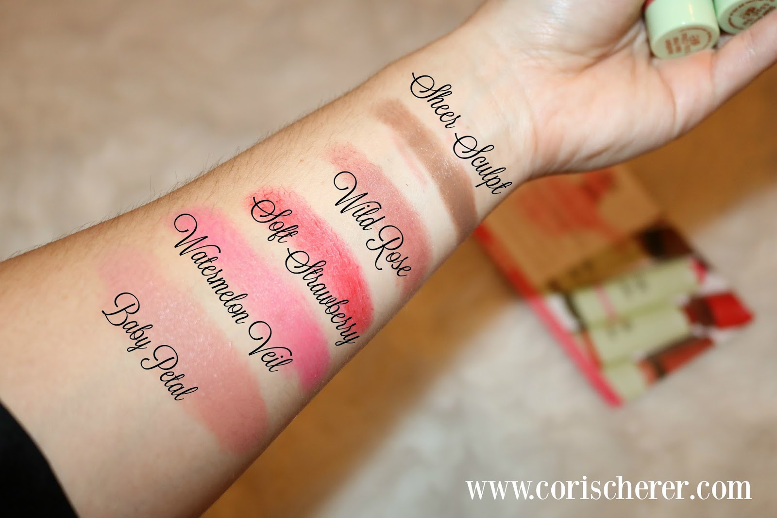 Cream Blush Swatch
