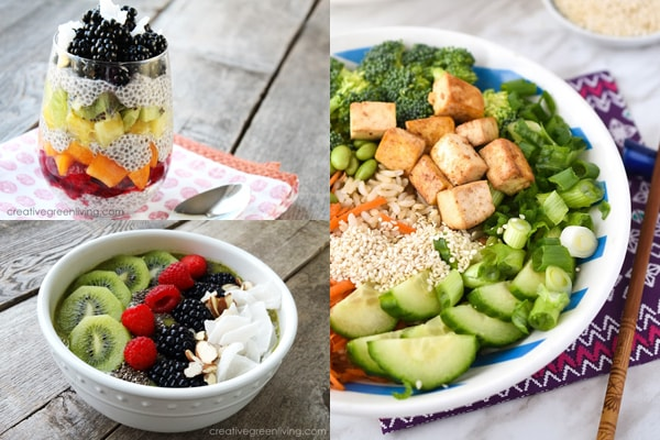Get the best plant based superfood recipes that are both vegan and vegetarian