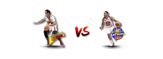 June 16: SMB vs TNT, 6:45pm MOA Arena