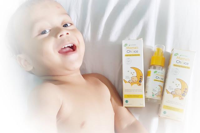 Bayi Kolik? Pijat I Love U Saja! pakai Mama's Choice Baby Calming Tummy Oil