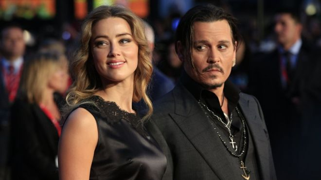 Amber Heard and Johnny Depp row over divorce donations