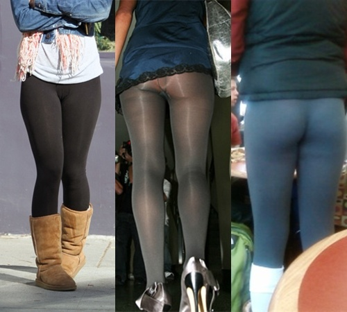 No son pantalones ni medias
