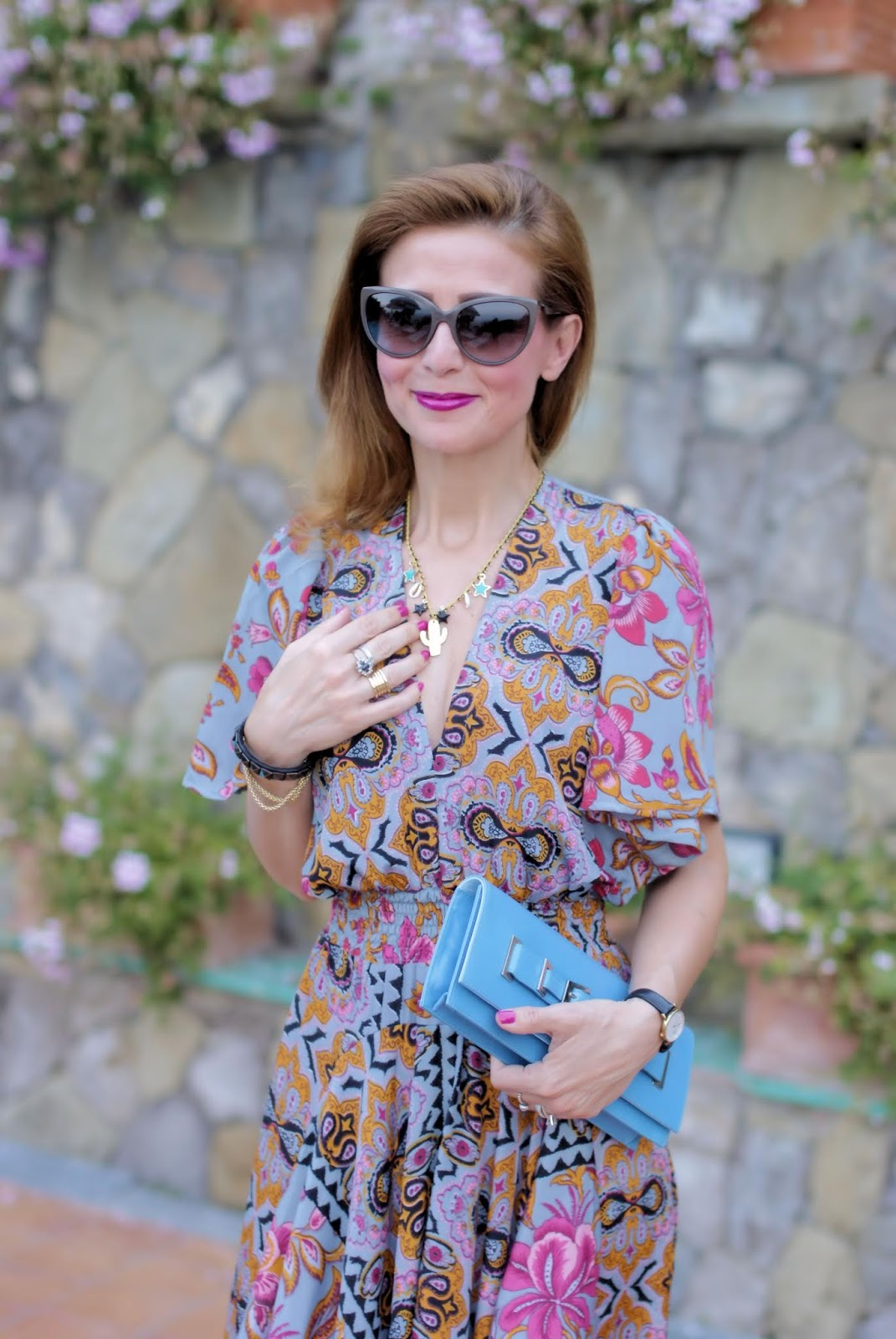 Collana handmade Oro Rosa Shop su Fashion and Cookies fashion blog, fashion blogger style
