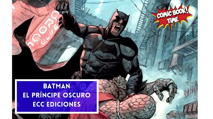 'Batman, El príncipe oscuro' una obra de Enrico Marini | Editado por ECC Ediciones