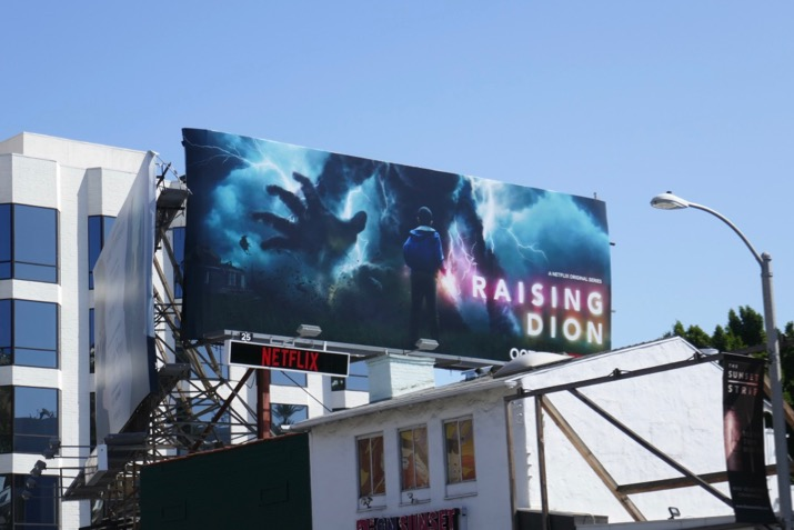 Raising Dion season 1 billboard