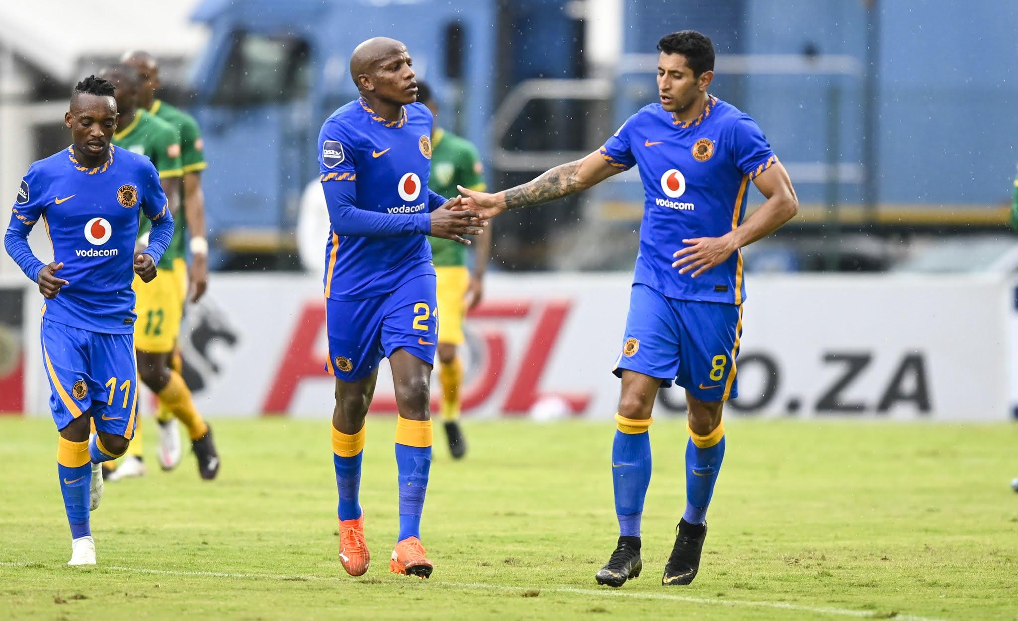 Kaizer Chiefs striker Leonardo Castro