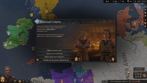 Crusader Kings 3 management