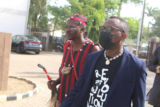 Sowore Subtly Attacks People Calling Him Out For Arriving Court With A 'Herbalist'