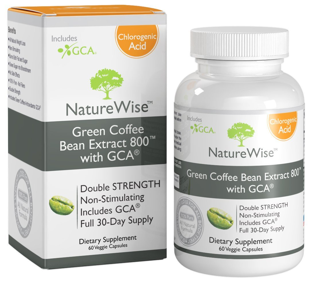 NatureWise Green Coffee Bean Natural Weight Loss ...