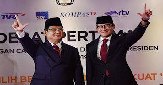 Rumus Prabowo-Sandi Menang di MK Harus Mampu Buktikan Kecurangan 50%+1