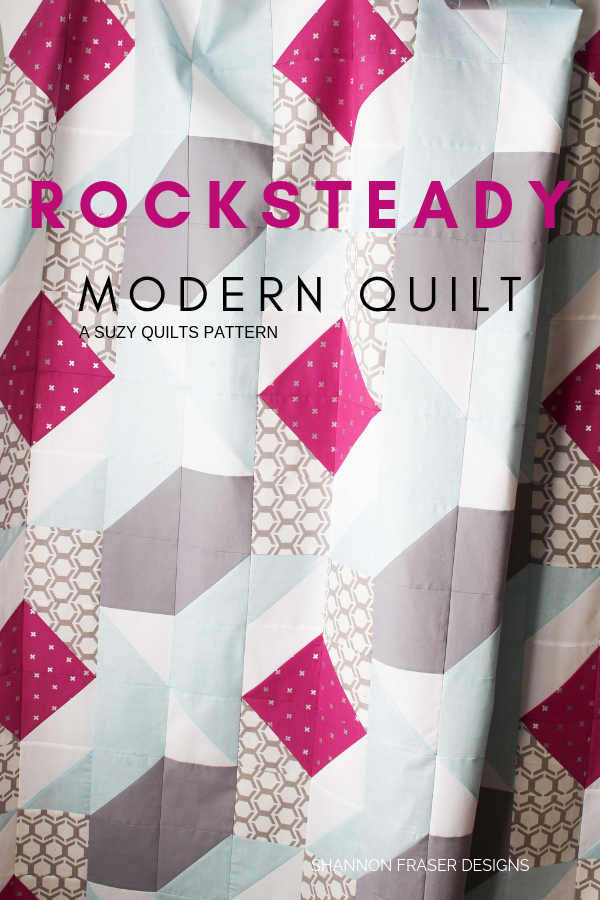 Rocksteady Quilt | a Suzy Quilts Pattern | Shannon Fraser Designs