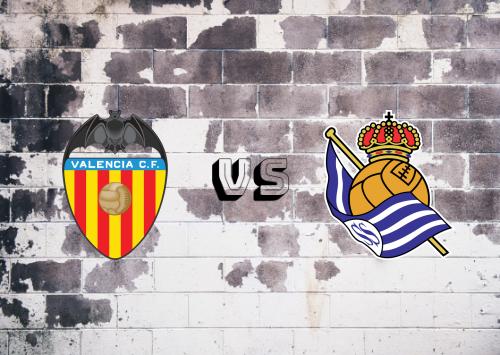 Valencia vs Real Sociedad  Resumen