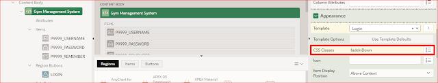 Oracle APEX Tutorial - Animated Login Screen in Oracle Apex