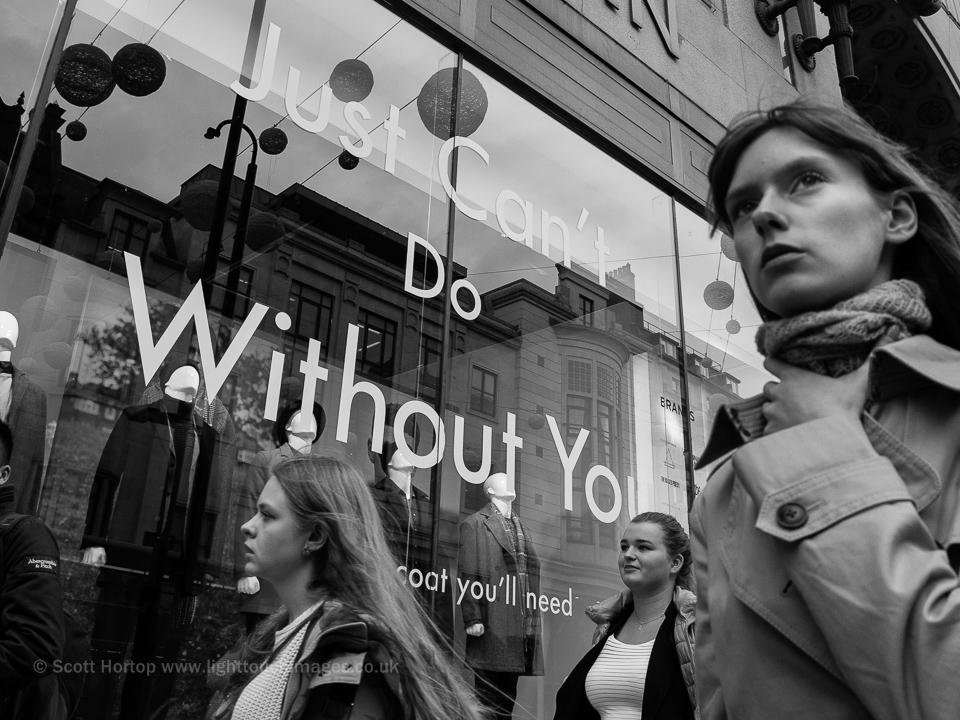 Just can't do without you - Oxford Street