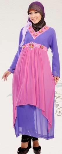 Desain busana muslim untuk orang gemuk