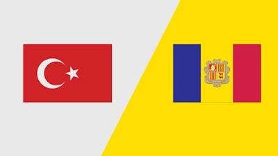مشاهدة مباراة تركيا واندورا بث مباشر اليوم 7-9-2019 في تصفيات اليورو 2020