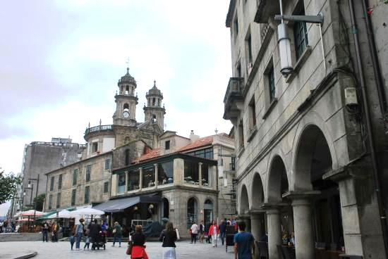Pontevedra, Spain, new motorhome stopover in the city - free of charge