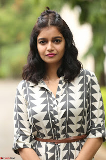 Swathi Reddy Looks super cute at London Babulu theatrical trailer launch ~  Exclusive 056.JPG