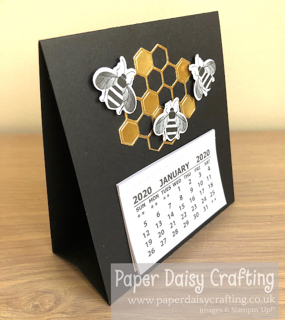 Golden Honey Stampin Up calendar