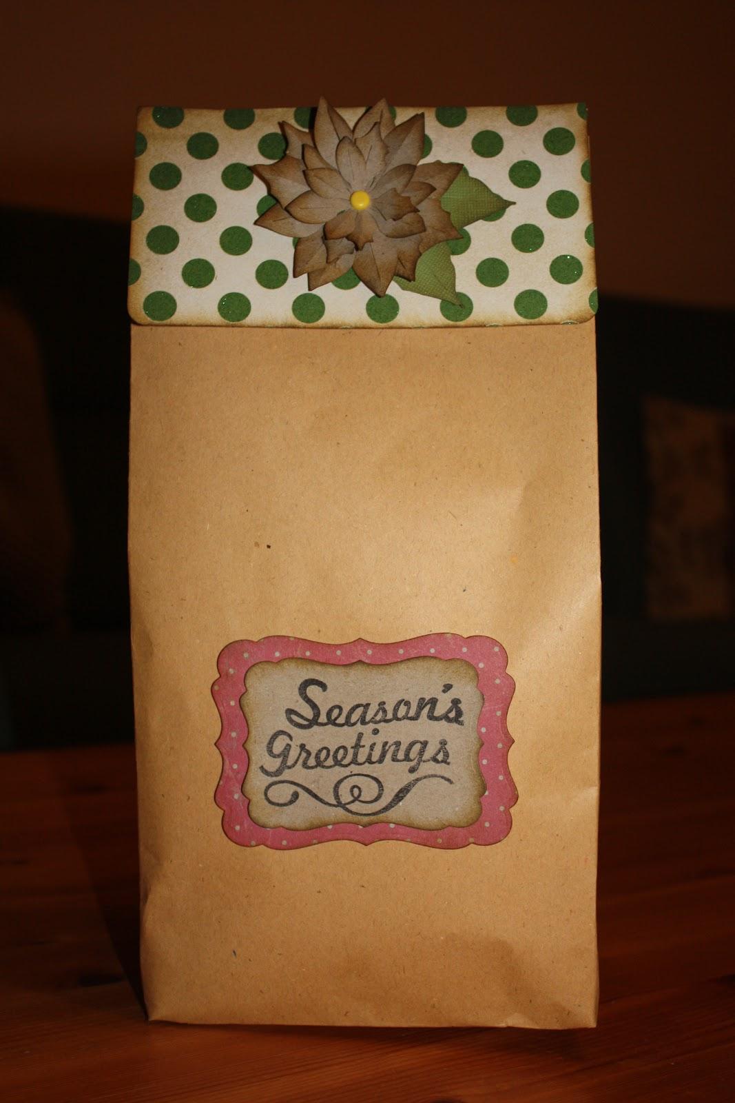 Polly kreativ: Geschenkverpackungen zu Weihnachten