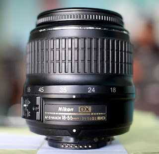 Jual Lensa Kit Nikon 18-55mm Bekas