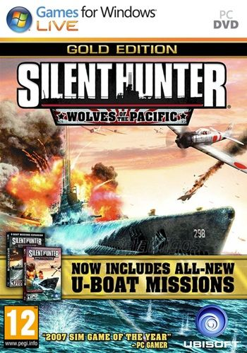 Silent Hunter 4 Wolves of the Pacific Gold Edition (2007-2008) PC Full Español