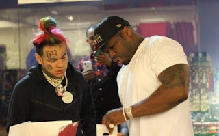 50 Cent and Tekashi 6ix9ine Line Of Work Continues