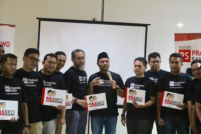 PASBRO, Prabowo Sandi Brother Online Diluncurkan #KawanPS Untuk Lawan Hoax