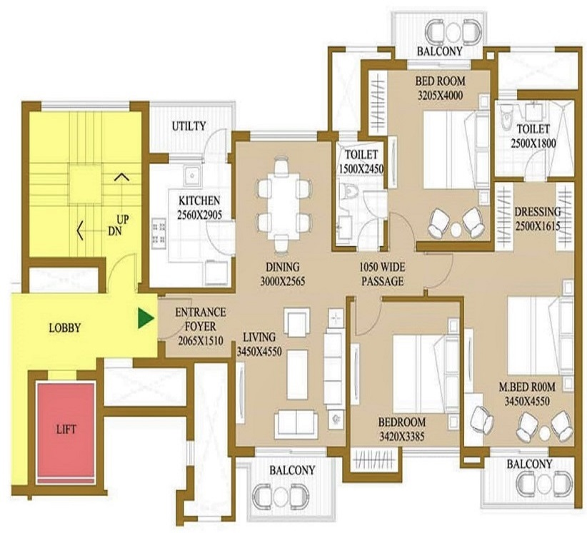1625-sq.-ft.-3bhk-floor-plan-ATS-le-grandiose