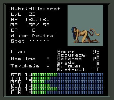 Shin Megami Tensei - Desnudo
