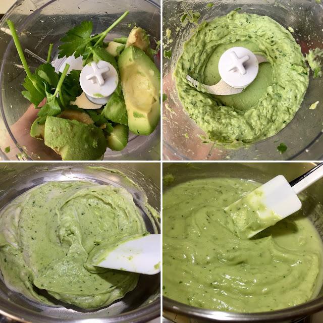 crema de aguacate vegana
