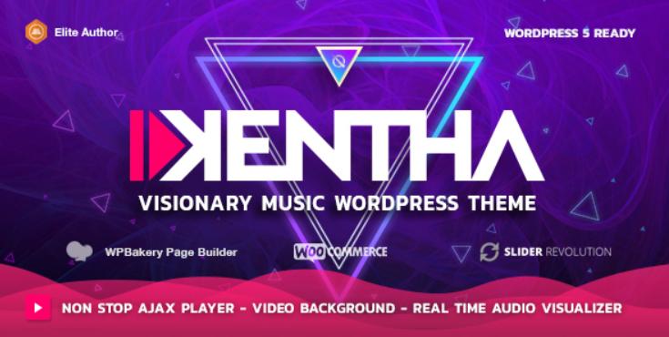 free Kentha WordPress theme   Onedowfiles